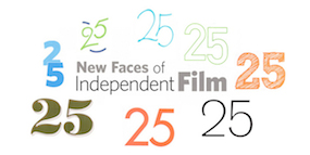 "Filmmaker Magazine's ""25 New Faces of Independent Film"" 2014"