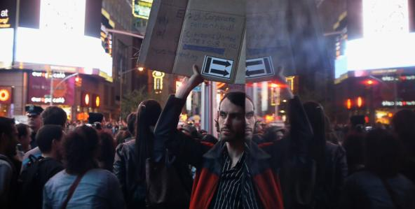Short Attention Span Cinema: Newsreels — Reports from Occupy Wall Street by Jem Cohen